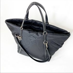 MZ Wallace large black tote lined bag